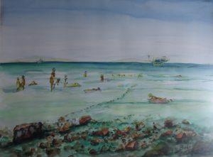 Egipt - Morska ścieszka