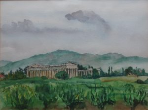 Italia - Swiątynie w Paestum