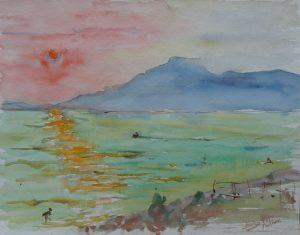 Italia - Zachód słońca