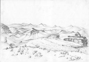 Izrael - Skalna pustynia