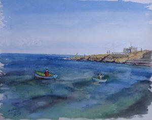 Malta - Dwie łódki
