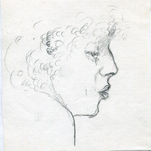 P Kobiecy profil